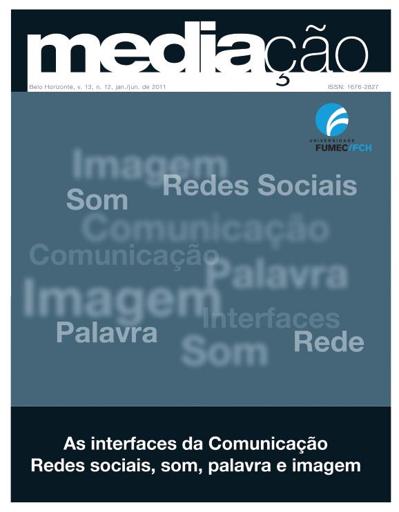 Capa revista Mediação Volume 13